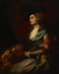 mrs. sarah siddons by thomas gainsborough