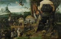 die versuchung des heiligen antonius by hieronymus bosch