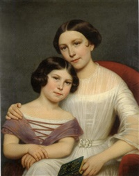 portrait of two sisters by anglo-american school (19)
