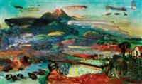 landscape by s. sudjojono