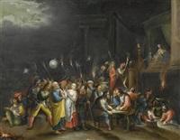 jesus vor hannas und die verleugnung durch petrus by hieronymus francken iii
