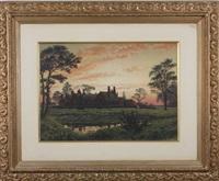 chorlton old hall, cheshire, england by peter caledon cameron