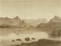 seelandschaft by johann rudolf koller