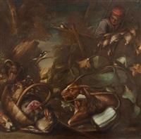 der vogelverkäufer by bartolomeo arbotori