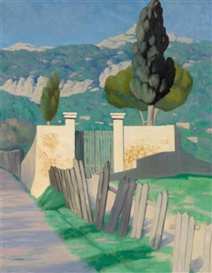 artwork by félix edouard vallotton