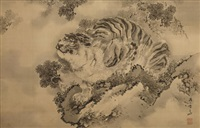 tiger by gantai