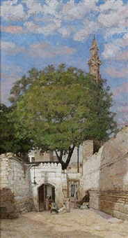 street in cairo by william graham
