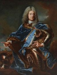 portrait von carl heinrich von hoym by hyacinthe rigaud