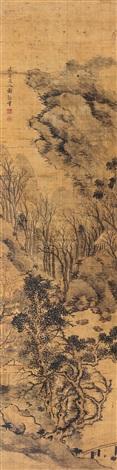 autumn landscape by xie guansheng