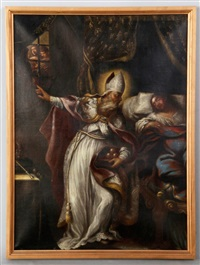 the charity of st. nicholas of bari by giovanni andrea ansaldo