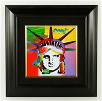 liberty head version iii #71 by peter max