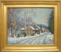 winter in ferndale by tatiana alexeeva
