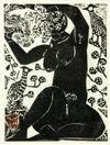 nude figure by shiko munakata