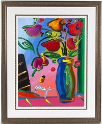flowers by peter max