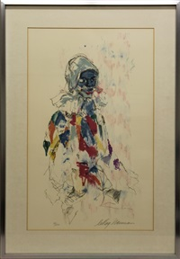 harlequin by leroy neiman