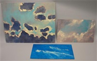 cloud (study) (+ 2 others; 3 works) by louis b. sloan