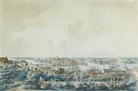 stockholm sedt från mose backe på södermalm by johan fredrik martin