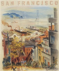 san francisco by louis macouillard