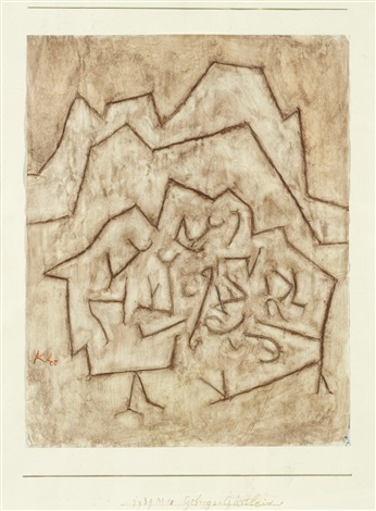gebirgs gärtlein by paul klee