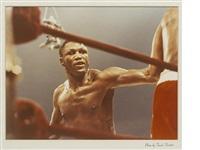 joe frazier - muhammad ali boxing match by frank sinatra