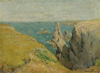 belle isle en mer by maxime maufra