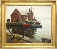 quiet day, rockport by anthony thieme