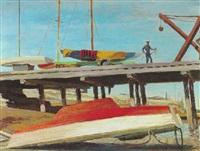monterey docks by victor michail arnautoff
