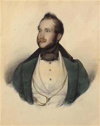 brustbildnis eines mannes (porträt des erzherzogs von österreich?) by franz xaver winterhalter
