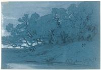 arbres à bordighera by alexandre calame