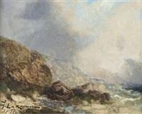 bretonische küste by jean etienne karnec
