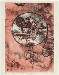 der verliebte, pl. 3 (from meistermappe des staatlichen bauhauses) by paul klee