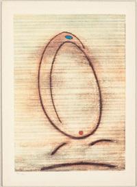 l'oiseau caramel (portfolio of 3) by max ernst