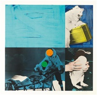 eskimo (blue) by john baldessari