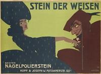 stein der weisen. bester nagelpolierstein. kopp & joseph w. potsdamerstr. 122c. by alfred böld