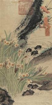 芝仙祝寿 by empress dowager cixi