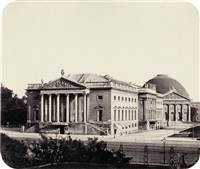 opera house and st. hedwigs church, berlin by leopold ahrendts