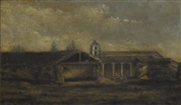 thought to be mission san buenaventura by jules tavernier
