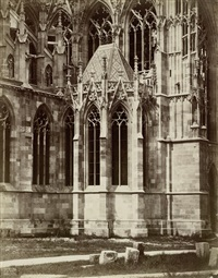 various churches in and around vienna (set of 5) by hermann dr heid