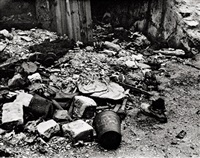 street rubbish, paris by ilse bing