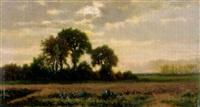 landschaft bei gewitterstimmung by alexandre-charles-joseph gittard