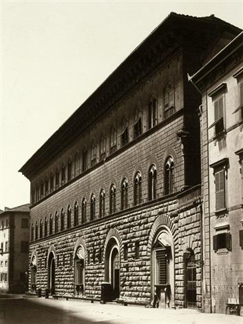 view of palazzo medici florence by fratelli alinari