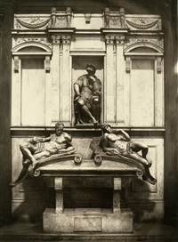 sculpture and painting reproductions (6 works) by fratelli alinari