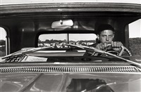 self-portrait, haverstraw; new york by lee friedlander