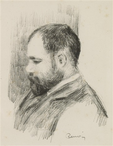ambroise vollard from lalbum des douze lithographies by pierre auguste renoir