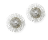 kaminfegerlampen helios (pair) by riccardo blumer