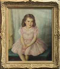 portrait of a young girl by mischa askenazy