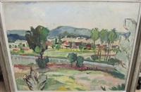 sommerliche landschaft im limmattal by hermann hofmann