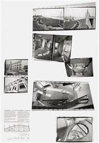 office baroque - 1977 ernest van dijckkaai, 1 -antwerpen. project by gordon matta-clark for the i.c.c. antwerpen by gordon matta-clark