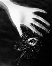 schadographie 168; schadographie 24 b (2 works) by christian schad