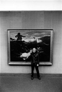 the artist andy warhol, alte pinakothek, munich (2 works) by digne meller-marcovicz